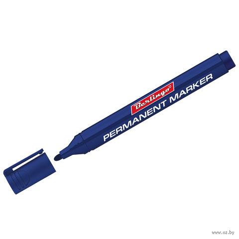 Маркер перманентный (синий; 3 мм)