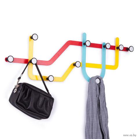 """Вешалка """"Subway"""" (разноцветная)"""