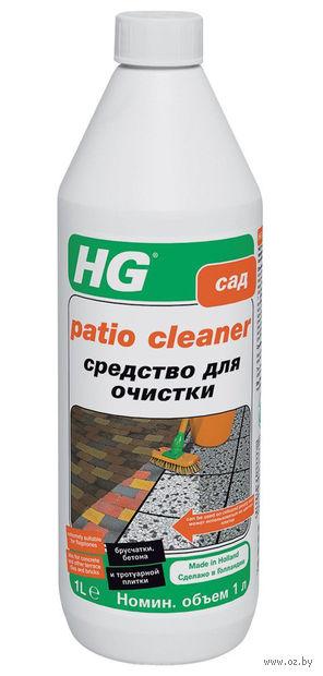 """Средство для очистки брусчатки, бетона и тротуарной плитки """"HG"""" (1 л) — фото, картинка"""