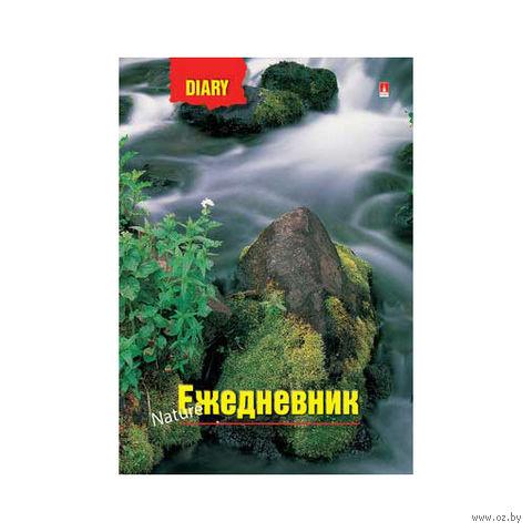"""Ежедневник недатированный """"Горная река"""" (А6) — фото, картинка"""