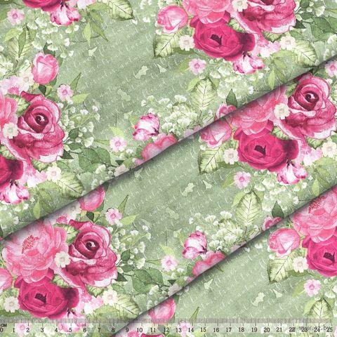 """Ткань """"Великолепный розарий"""" №5 — фото, картинка"""