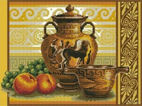 "Алмазная вышивка-мозаика ""Греческий натюрморт"" (470х350 мм) — фото, картинка"