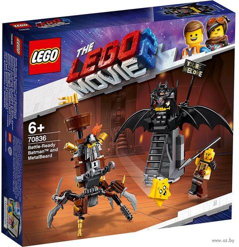 """LEGO The Lego Movie 2 """"Боевой Бэтмен и Железная борода"""" — фото, картинка"""