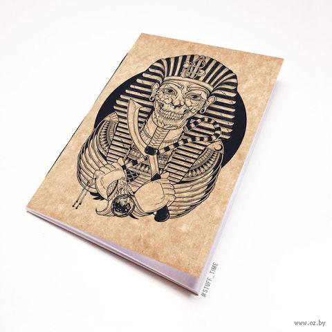 """Блокнот крафт """"Мумия Фараона"""" А7 (арт. 475)"""