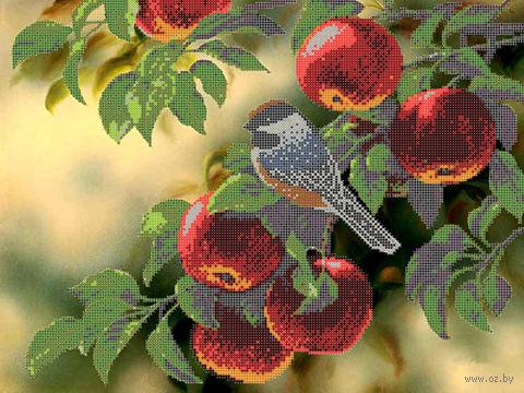 """Канва с нанесенным рисунком """"Молодильные яблочки"""""""