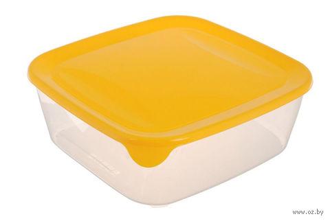 """Контейнер для хранения продуктов """"Fresh&Go"""" (0,8 л; желтый)"""