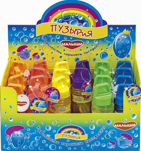 Мыльные пузыри (120 мл; арт. MP02) — фото, картинка