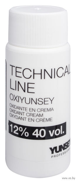 """Крем-перекись водорода для волос """"Professional Technical Line Oxidant Cream 12% - 40 vol"""" (60 мл) — фото, картинка"""