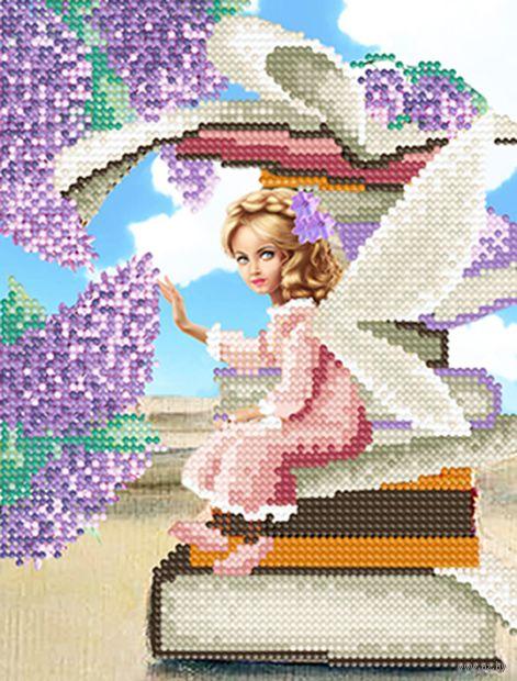 "Алмазная вышивка-мозаика ""Нежная фея"" (250х190 мм) — фото, картинка"