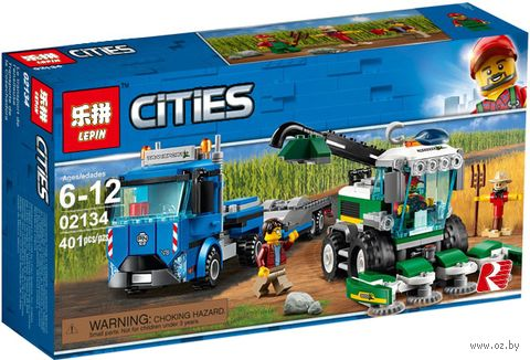 "Конструктор Cities ""Транспортёр комбайна"" — фото, картинка"