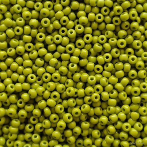 Бисер №53430 (оливковый; 10/0) — фото, картинка