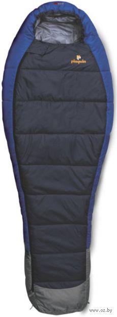 """Спальный мешок """"Mistral 185"""" (R; синий) — фото, картинка"""