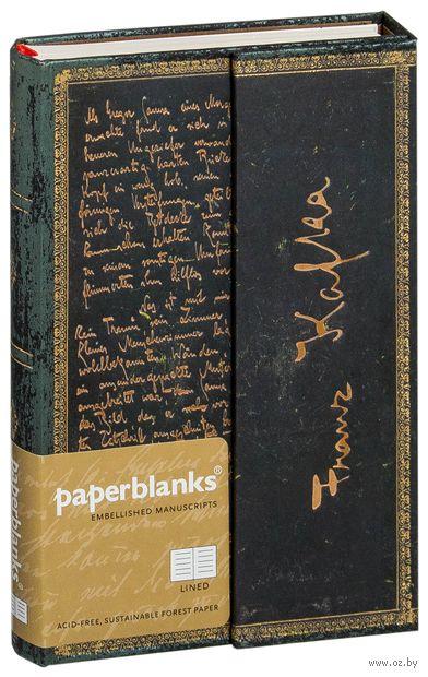 "Записная книжка Paperblanks ""Кафка, Превращение"" в линейку (формат: 95*140 мм, мини)"