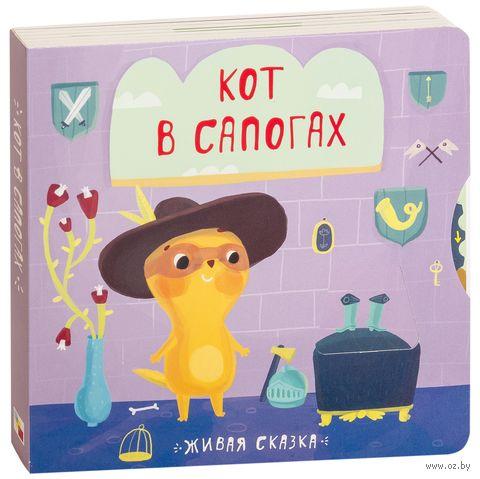 Кот в сапогах. Книжка-игрушка — фото, картинка