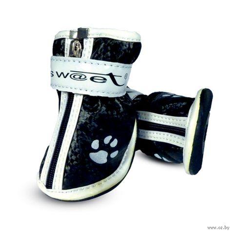 """Ботинки с """"лапками"""" (5х4х5 см; черные) — фото, картинка"""