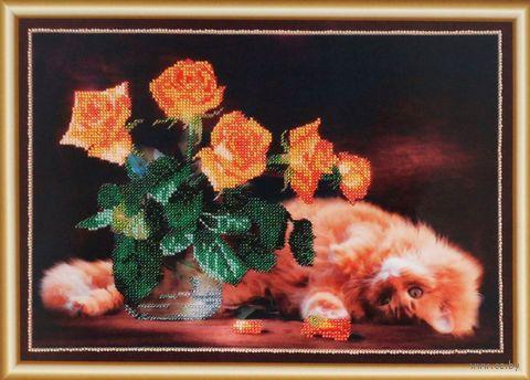 "Вышивка бисером ""Шалунишка"" (350х250 мм) — фото, картинка"