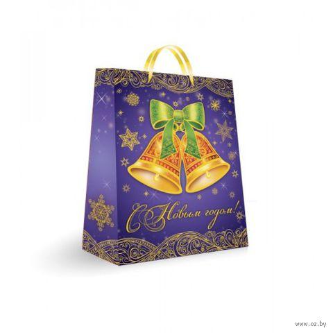 Пакет бумажный подарочный (33х26х13 см; арт. 31466)