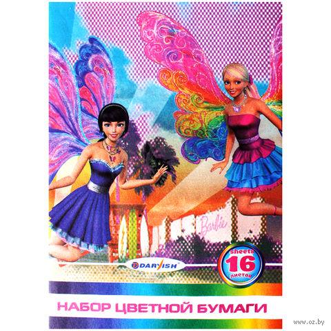 "Бумага цветная ""Darvish"" (А4; 16 листов; 8 цветов; арт. DV-6063)"