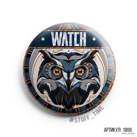 """Значок """"Watch"""" (арт. 1808) — фото, картинка"""