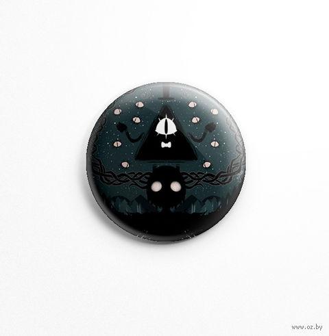 """Значок """"Гравити Фолз. Билл"""" (арт. 196) — фото, картинка"""