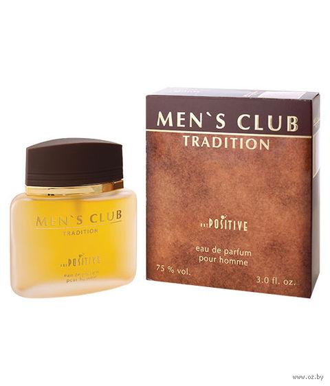 "Парфюмерная вода для мужчин ""Men's Club Tradition"" (90 мл) — фото, картинка"