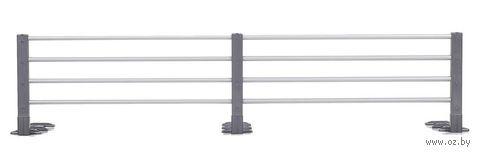 """Защитный барьер для кровати """"Раздвижной"""" (серый) — фото, картинка"""