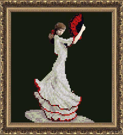 "Вышивка бисером ""Танец страсти"" (148х162 мм) — фото, картинка"