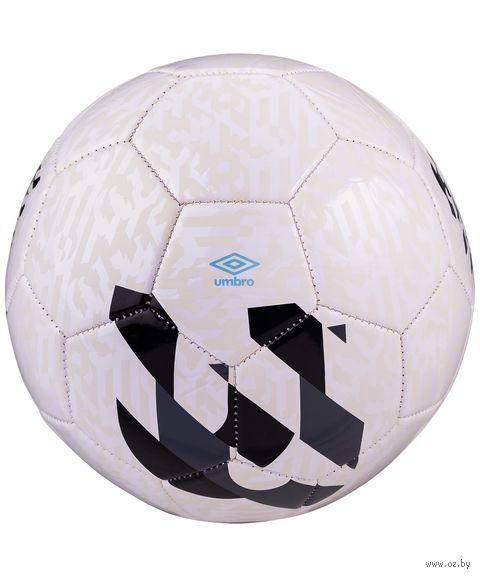 """Мяч футбольный Umbro """"Veloce Supporter"""" №3 (белый/тёмно-серый/чёрный) — фото, картинка"""