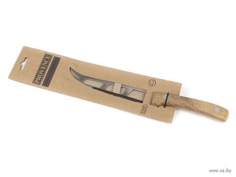 Нож металлический с деревянной ручкой (27/14,5 см)