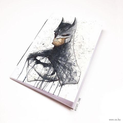 """Блокнот белый """"Бэтмен"""" А6 (699)"""