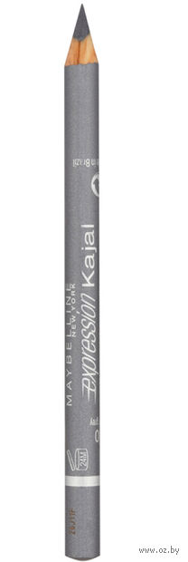 "Карандаш для глаз ""Expression Kajal"" водостойкий (тон: 40, серебристо-серый) — фото, картинка"