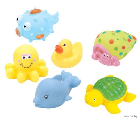 """Набор игрушек для купания """"Веселые друзья"""" (6 шт)"""