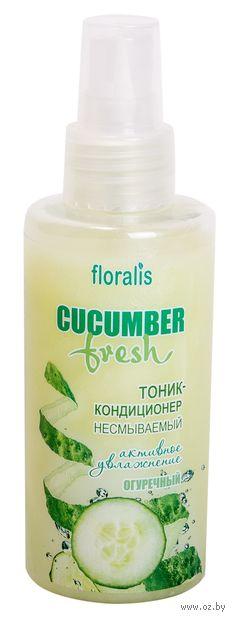 """Тоник-кондиционер для волос """"Огуречный"""" (140 мл) — фото, картинка"""