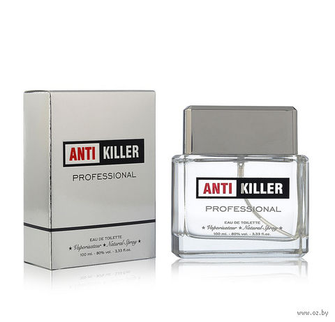 "Туалетная вода для мужчин ""Antikiller Professional"" (100 мл) — фото, картинка"