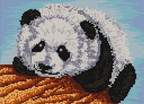 "Алмазная вышивка-мозаика ""Панда"" (360х260 мм; арт. БСА3-054) — фото, картинка"