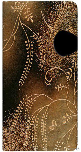"Записная книжка Paperblanks ""Сидаре"" в линейку (формат: 90*180 мм, слим)"