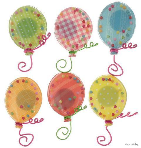 """Стикеры для скрапбукинга """"Воздушные шары"""" (арт. EKS-50-21742) — фото, картинка"""
