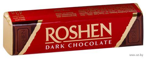 """Шоколад темный """"Roshen. Помадно-шоколадная начинка"""" (43 г) — фото, картинка"""