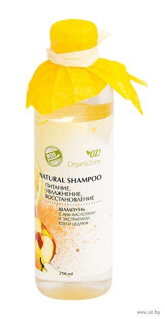 """Шампунь для волос """"С АНА-кислотами. Питание, увлажнение, восстановление"""" (250 мл) — фото, картинка"""