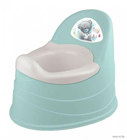 Горшок пластмассовый детский (390x310x305 мм; зеленый) — фото, картинка