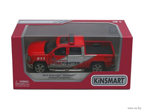"Модель машины ""2014 Chevrolet Silverado"" (масштаб 1/46) — фото, картинка"