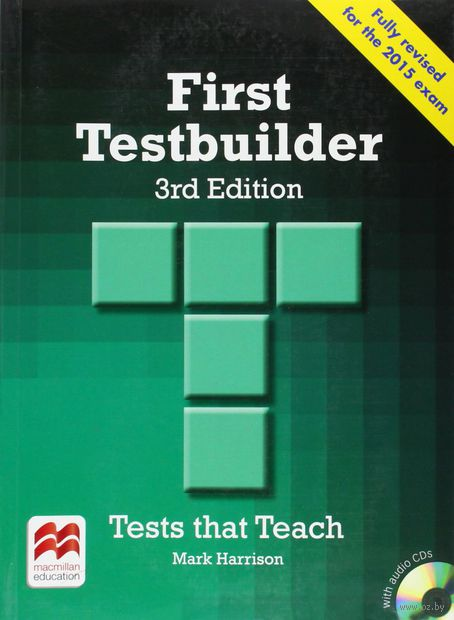 First Testbuilder. Student`s Book Without Key (+ 2 CD). Марк Гаррисон