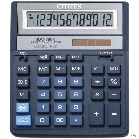 Калькулятор настольный SDC-888XBL (12 разрядов)