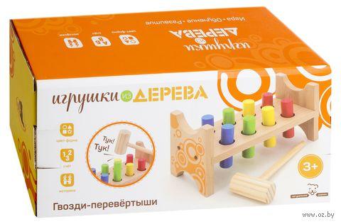 """Деревянная игрушка """"Гвозди-перевертыши"""" — фото, картинка"""