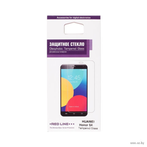 Защитное стекло для экрана Redline для Huawei Honor 5A 1шт. (УТ000009304) — фото, картинка