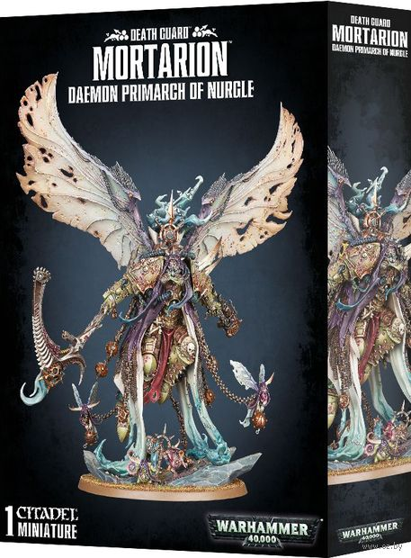 Warhammer 40.000. Death Guard. Mortarion. Daemon Primarch of Nurgle (43-49) — фото, картинка