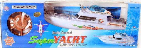 """Яхта на радиоуправлении """"Super Yacht"""" — фото, картинка"""