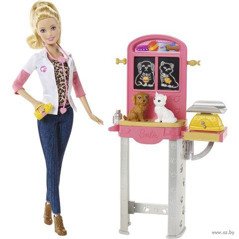 """Игровой набор """"Барби. Кем быть? Ветеринар"""""""