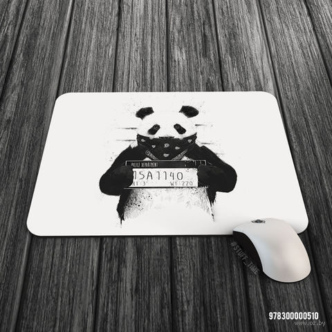 """Коврик для мыши большой """"Панда"""" (арт. 510)"""