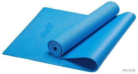 Коврик для йоги FM-101 (173x61x0,5 см; синий) — фото, картинка